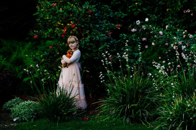 Фотосессия в ботаническом саду, детская фотосессия в Мельбурне 10