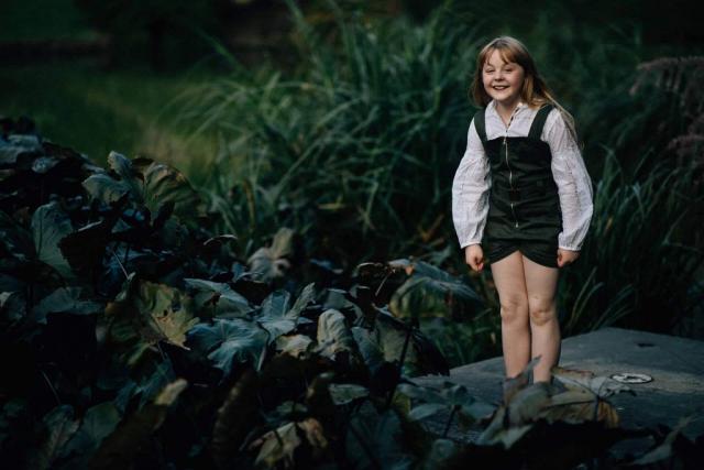 Фотосессия в ботаническом саду, детская фотосессия в Мельбурне 6