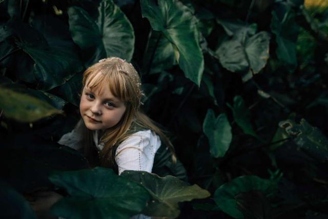 Фотосессия в ботаническом саду, детская фотосессия в Мельбурне 9
